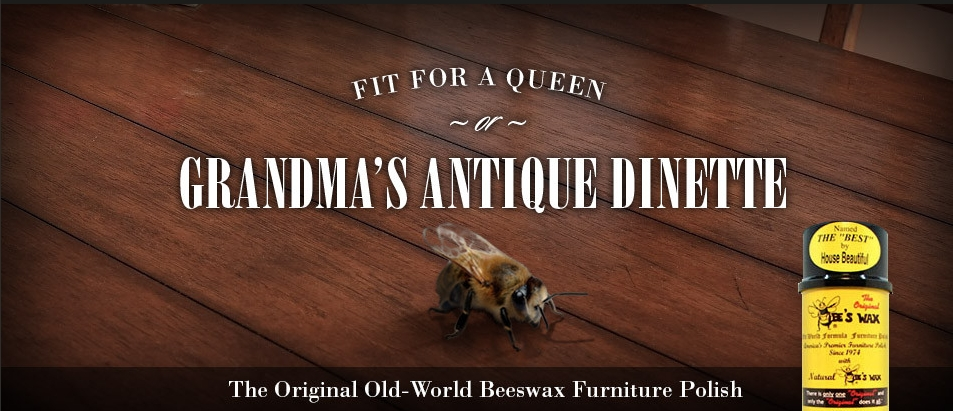 The Original Bee's Wax Furniture Polish