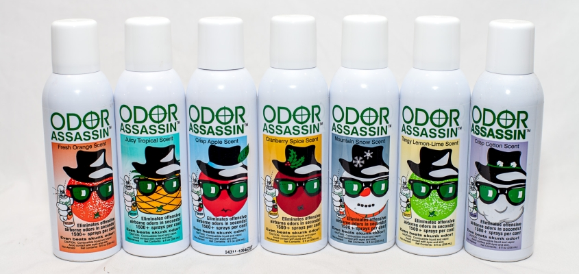Odor Assassin Convenient Sprays